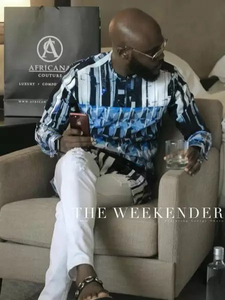 Men's Dashiki in a whole new dope dimension by Africana Couture 12
