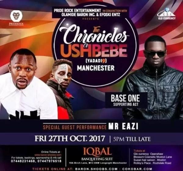 Chronicles of Ushbebe Manchester 2