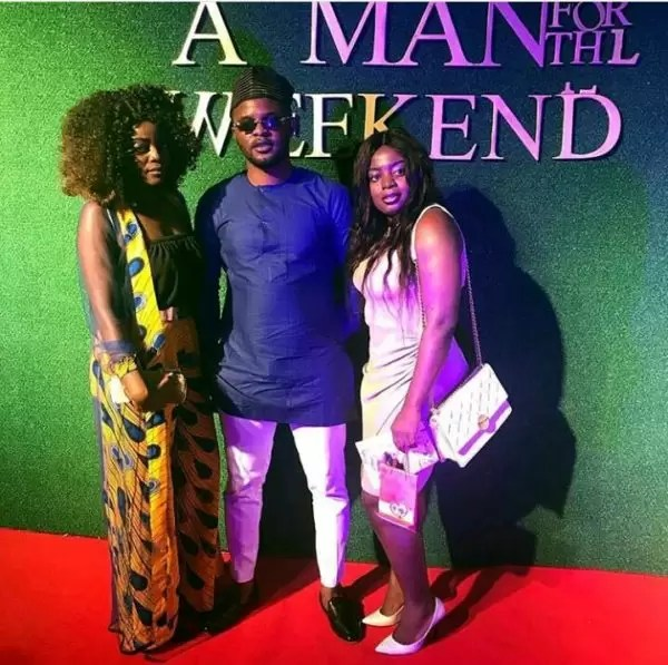 Photos of the movie premier #AManForTheWeekend in Douala 18