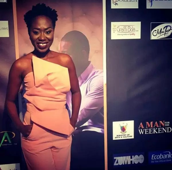 Photos of the movie premier #AManForTheWeekend in Douala 21