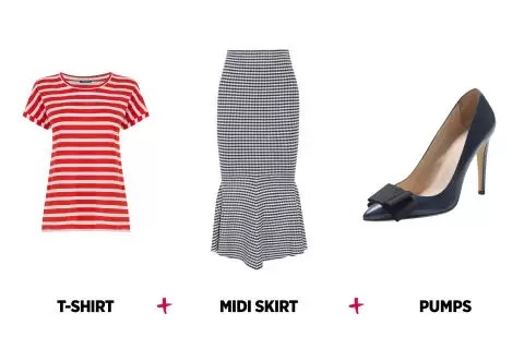 9 to 5 chick- Fashion: should you wear T- shirts to work? 4