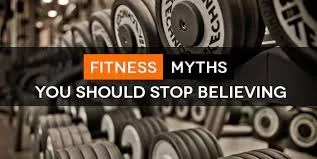 FitnessFriday - 4 FITNESS MYTHS AND THE TRUTH OF THE MATTER. 1