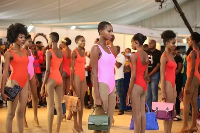 Lagos Leather Fair runway