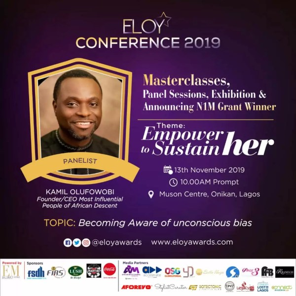 Eloy Conference 2019: Meet Panelists 2 Discussing Becoming Aware Of The Unconscious Bias. 3