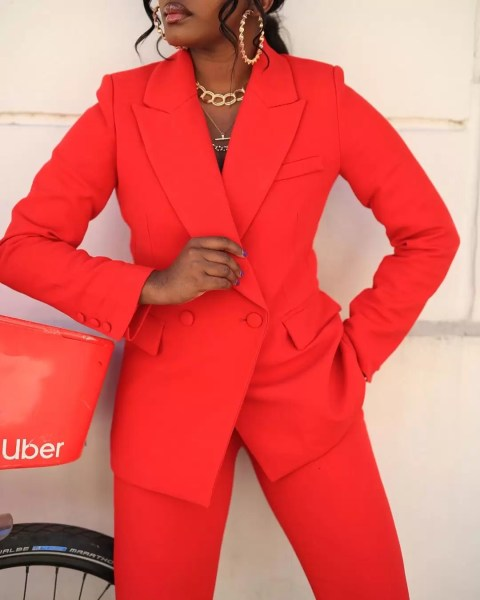 9 to 5 Chic: It's Raining Colored Suits! 2