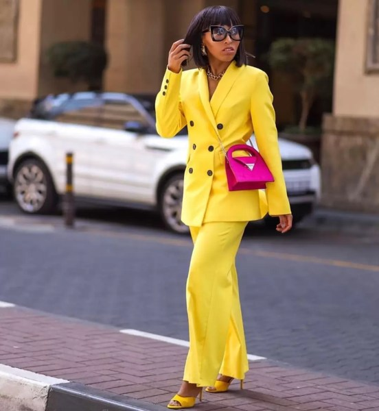 9 to 5 Chic: It's Raining Colored Suits! 1