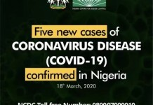 New Corona Virus Cases Confirmed In Nigeria
