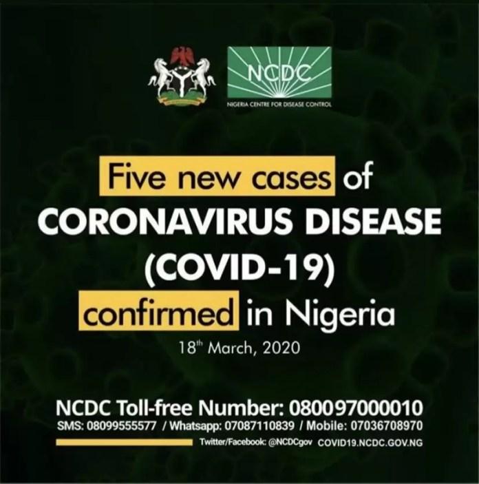 New Corona Virus Cases Confirmed In Nigeria