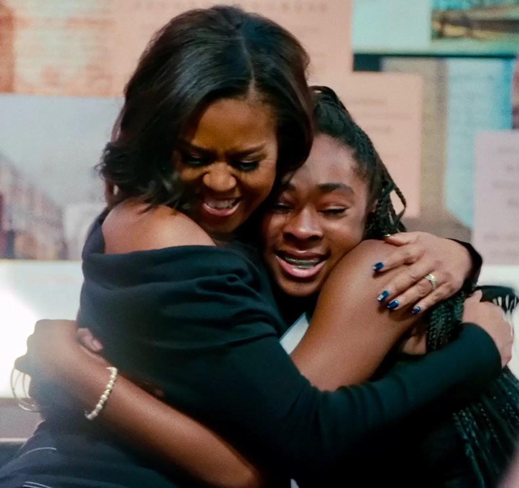 Michelle Obama-Netflix- Becoming