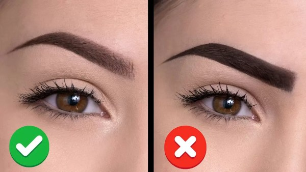 Eyebrows mistakes