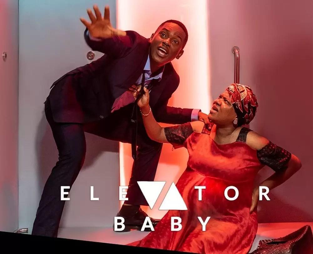 Elevator baby poster
