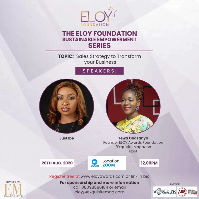 Eloy Awards Foundation 2020 Webinar Series: Day Three -Mental Awareness To Sustain You As A Business Owner Or Entrepreneur 3