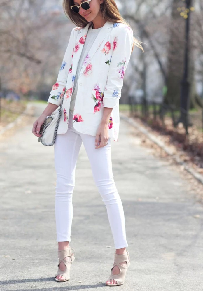 1 Shirt 5 Styles: Adrienne Houghton Shows Us How To Rock The White Shirt Style 1