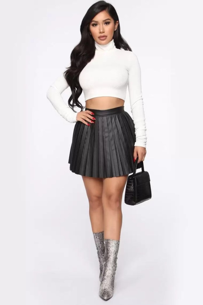 Exquisite Pleated Skirt Outfits | EM Lookbook 3