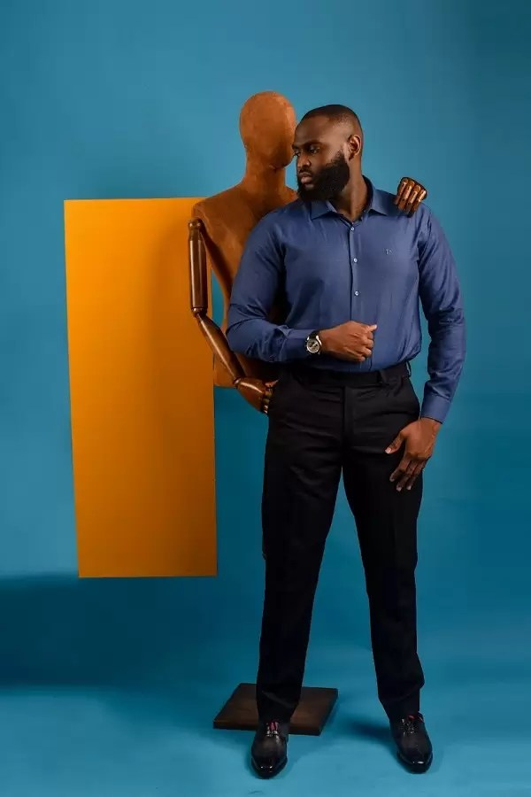 Uti Nwachukwu, Nelson Allison features in FreshbyDotun Latest Shirt Collection | EM Lookbook 6