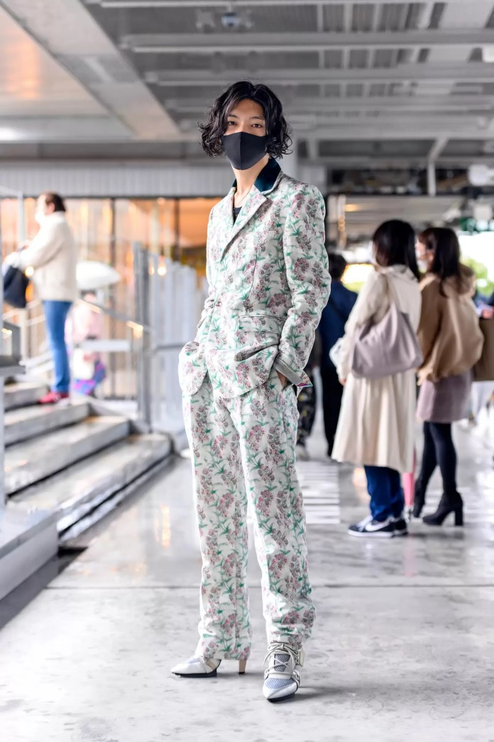 Some Street Style Awesomeness From Tokyo Fashion Week SS21 Just For You! 8