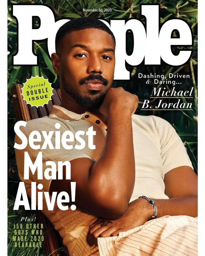 Michael B. Jordan Is People Magazine's 'Sexiest Man Alive 2020' 1