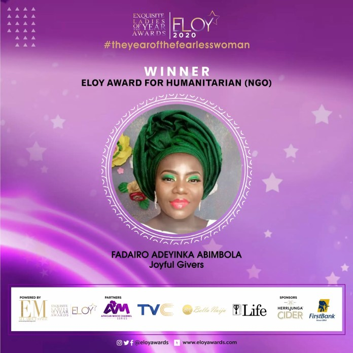 Tolu Bally, Toke Makinwa and More Emerge As The ELOY Awards 2020 Winners 11