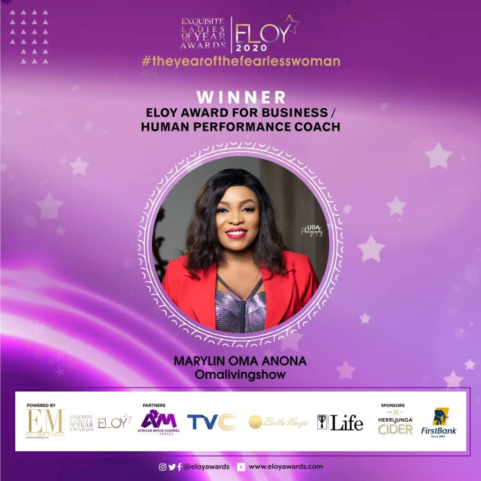 Tolu Bally, Toke Makinwa and More Emerge As The ELOY Awards 2020 Winners 12
