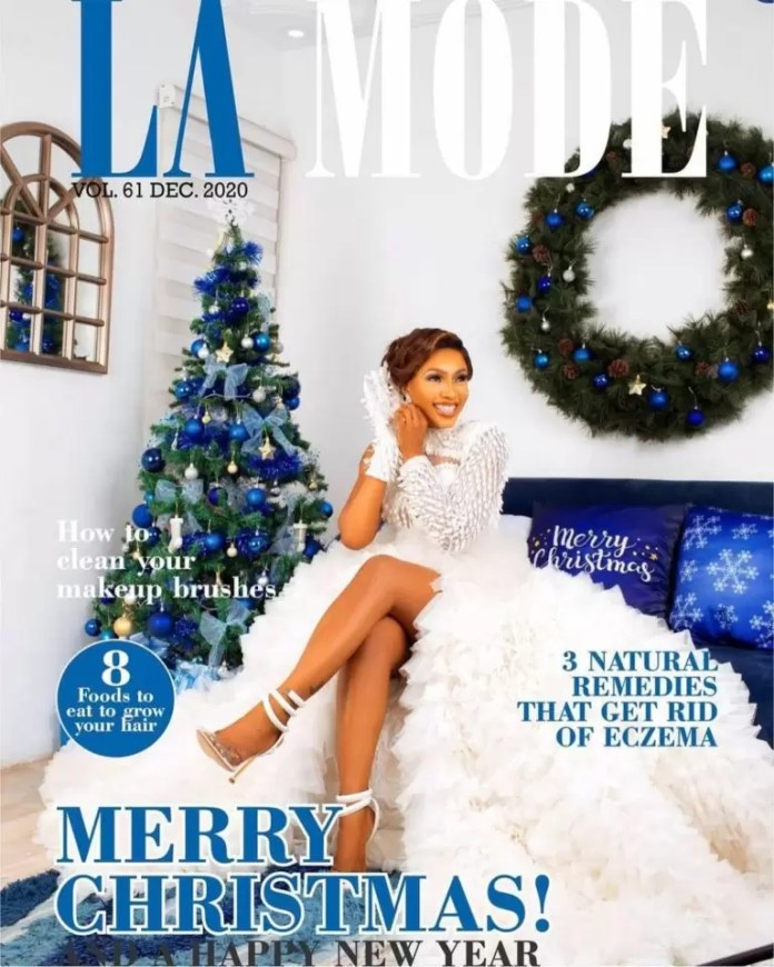 Mercy Eke Bags Another Mag Cover With La Mode's December Issue 1
