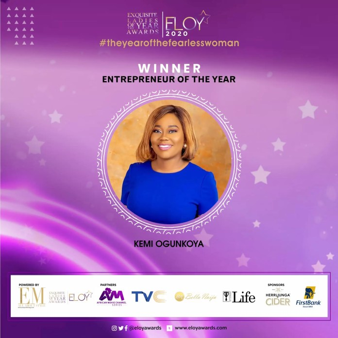 Tolu Bally, Toke Makinwa and More Emerge As The ELOY Awards 2020 Winners 3