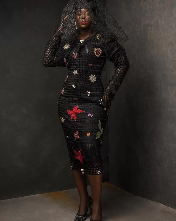 Constance Walter Has Christmas In Mind With Its 'Romantic Noire Collection' Featuring Shaffy Bello 5