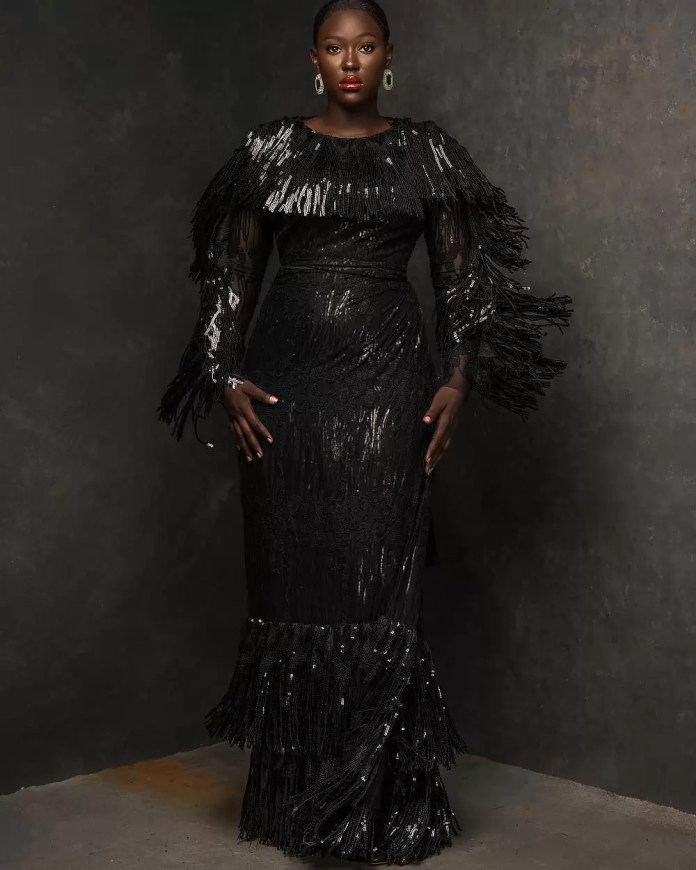 Constance Walter Has Christmas In Mind With Its 'Romantic Noire Collection' Featuring Shaffy Bello 15