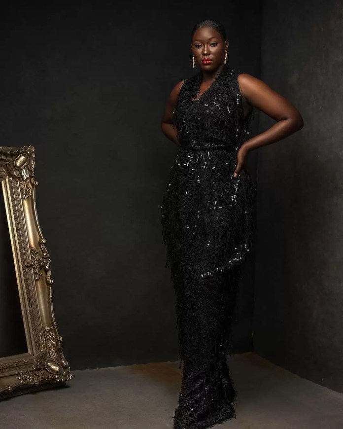 Constance Walter Has Christmas In Mind With Its 'Romantic Noire Collection' Featuring Shaffy Bello 3