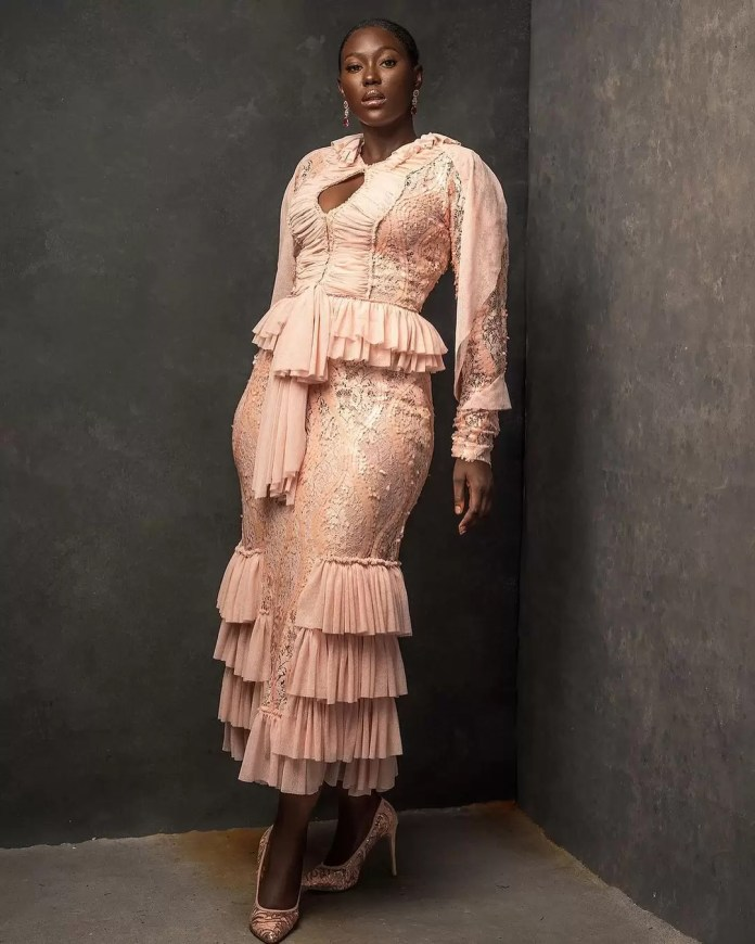 Constance Walter Has Christmas In Mind With Its 'Romantic Noire Collection' Featuring Shaffy Bello 11