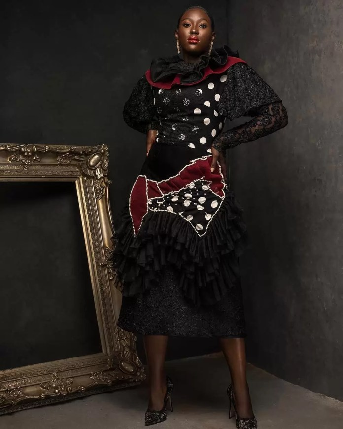 Constance Walter Has Christmas In Mind With Its 'Romantic Noire Collection' Featuring Shaffy Bello 7