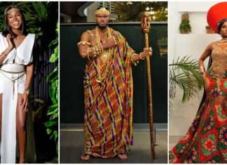 "Our Favorite Nigerian Celebrites ""African Royalty"" Outfit To 'Coming 2 America 2' Premiere"