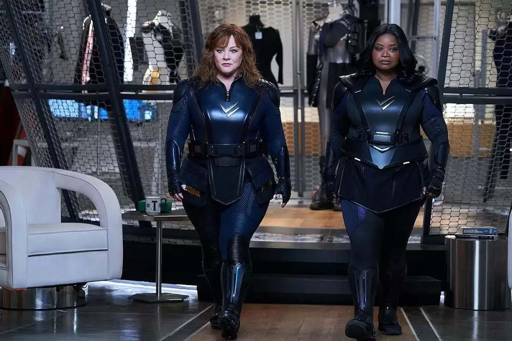 Thunder Force Trailer : Melissa McCarthy and Octavia Spencer Are Superhero Best Friends