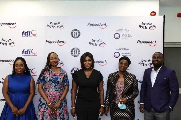 Actress Mercy Johnson, Otto Orondaam (Slum2school), Dental Professionals And Others Joined Pepsodent Round Table To Discuss The Importance And Actions To Foster Good Oral Hygiene With The Pandemic. 1