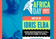 YOUTUBE, MTV BASE AND IDRIS ELBA JOIN FORCES TO CELEBRATE AFRICA'S NEXT GLOBAL TALENT THIS AFRICA DAY CONCERT