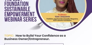 May ELOY Foundation Sustainable Empowerment Webinar