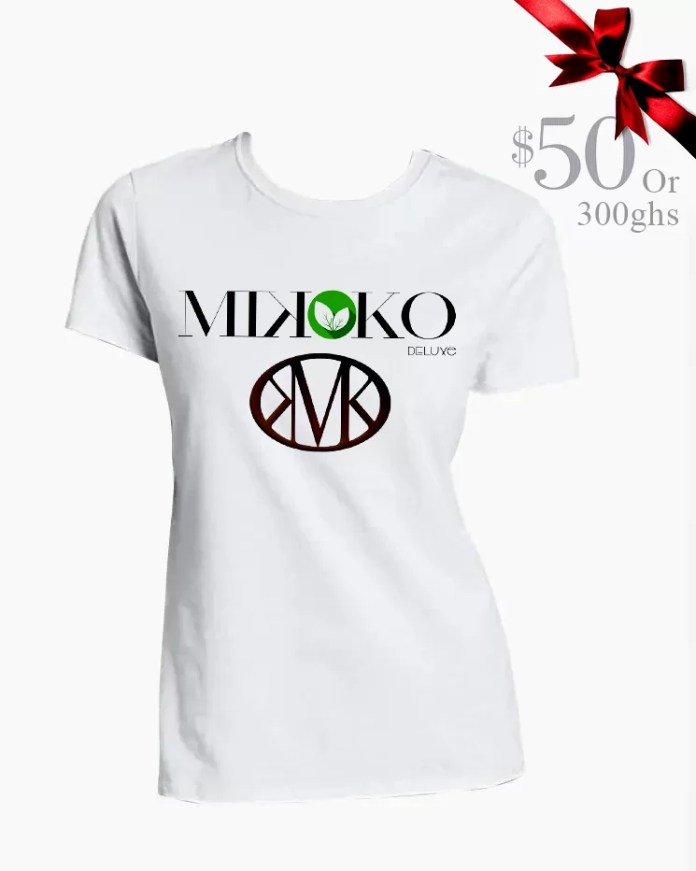 Wendy Shay Goes High Fashion In Mikoko Deluxe $50/300ghs T-Shirt 2
