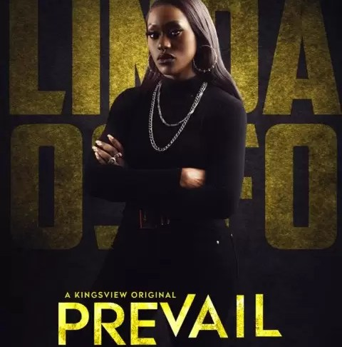 "Excitement is in the air as Actress and Model, Linda Osifo who started the year by pushing the creative envelope in 'Tanwa Savage' the movie, has continued to blaze the creative trail, this time in ""Prevail"""