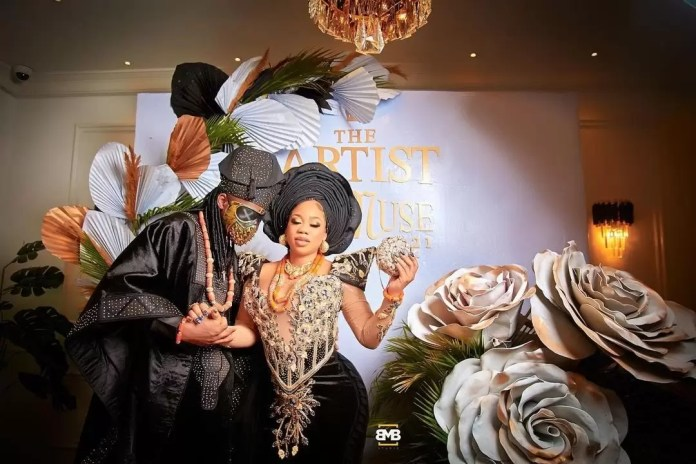 Wedding Guests Dazzle As Toyin Lawani Ties The Knot With The Love Of Her Life 6
