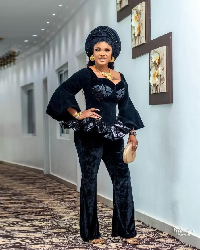 Wedding Guests Dazzle As Toyin Lawani Ties The Knot With The Love Of Her Life 4