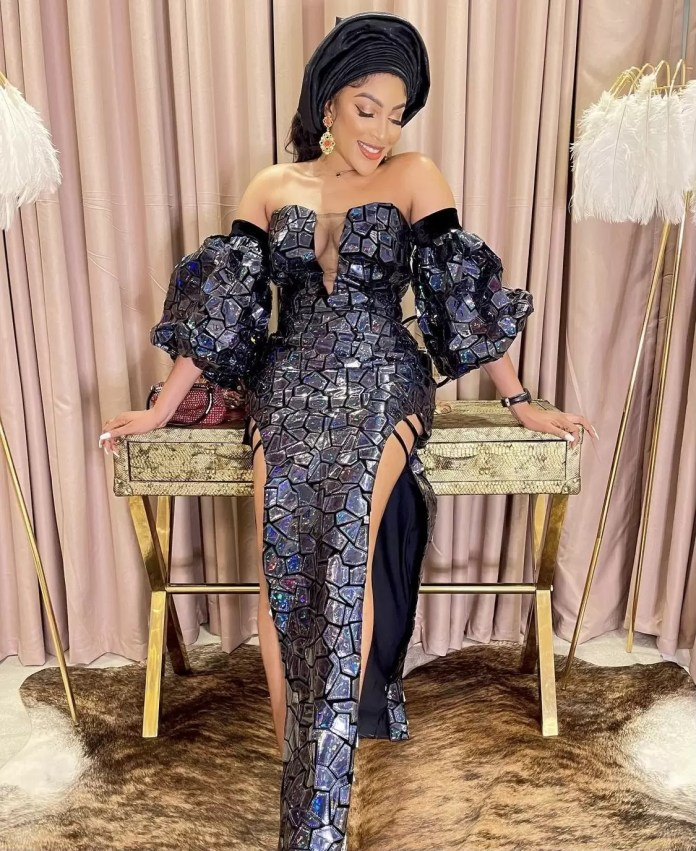 Wedding Guests Dazzle As Toyin Lawani Ties The Knot With The Love Of Her Life 9