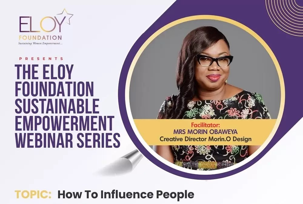 ELOY Awards Foundation Webinar Series on How to Influence People