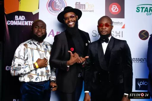 Jim Iyke Advocates Against Online Bullying; His Latest Film Bad Comments Premieres in Lagos 8
