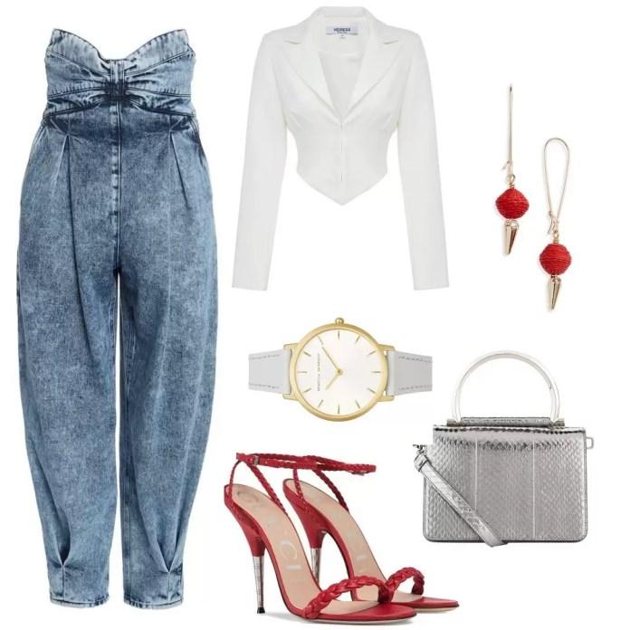 Highwaist Cuff Jeans