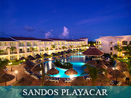 Sandos Playacar Beach