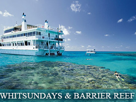 WHITSUNDAYS & THE GREAT BARRIER REEF ISLANDS