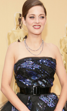 Marion Cotillard at the Oscars 2009 on Exshoesme.com