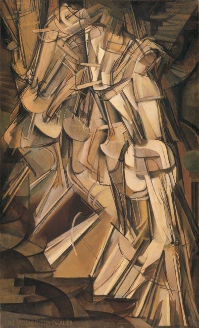 Nude Descending a Staircase No. 2, Marcel Duchamp, 1912