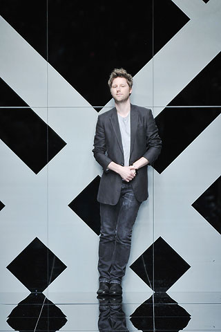 Fellow muso, Christopher Bailey
