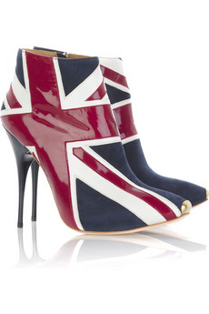Brit Booties by McQueen, who else? FW08