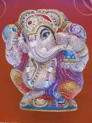 The start of good fortune, thanks to Ganesh-ji